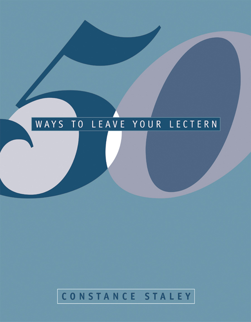 50 Ways to Leave Your Lectern - 9780534538668