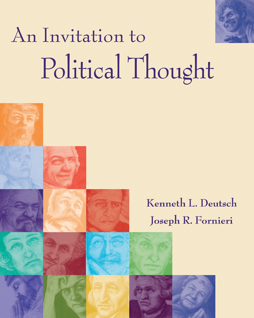 An Invitation to Political Thought - 9780534545635