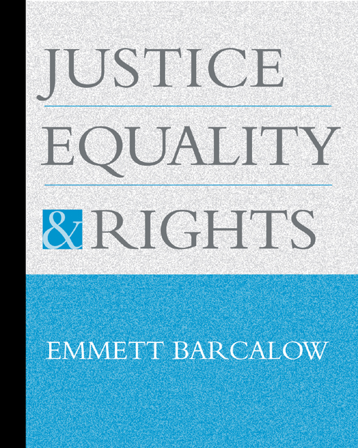 Justice, Equality, and Rights - 9780534573942