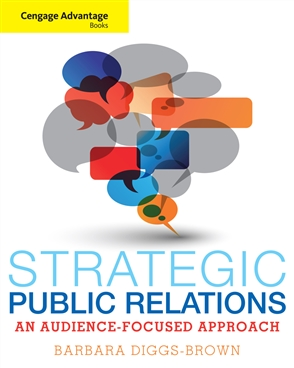 Cengage Advantage Books: Strategic Public Relations: An Audience-Focused Approach - 9780534637064