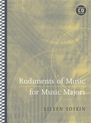 Rudiments of Music for Music Majors - 9780534638283
