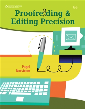 Proofreading and Editing Precision - 9780538450454