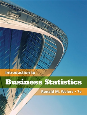 Introduction to Business Statistics - 9780538452199