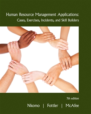Human Resource Management Applications: Cases, Exercises, Incidents, and Skill Builders - 9780538468077
