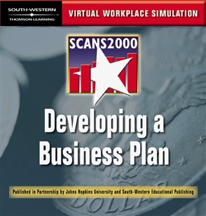 SCANS 2000: Developing a Business Plan: Virtual Workplace Simulation CD-ROM - 9780538698269