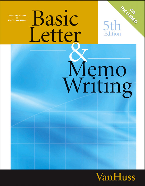 Basic Letter and Memo Writing - 9780538727839