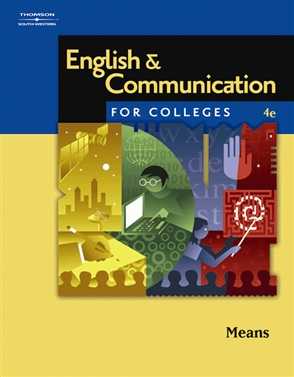 English and Communication for Colleges - 9780538730006
