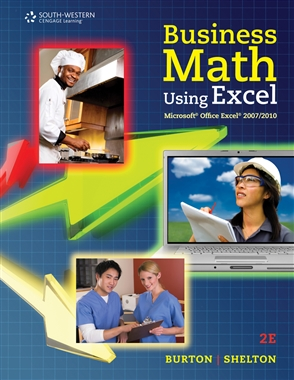 Business Math Using Excel® - 9780538731195