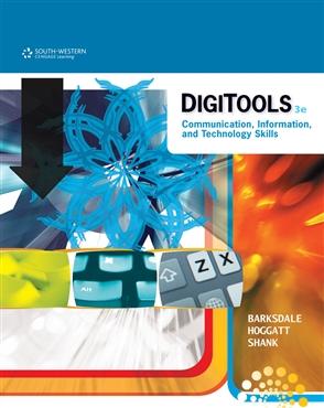 DigiTools: Communication, Information, and Technology Skills - 9780538741293