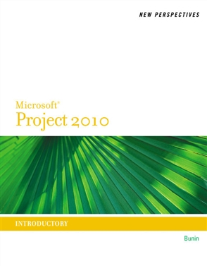 New Perspectives on Microsoft® Project 2010: Introductory - 9780538746762