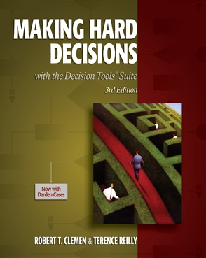Making Hard Decisions with DecisionTools - 9780538797573