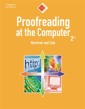 Proofreading at the Computer, 10-Hour Series - 9780538973571
