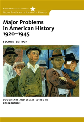 Major Problems in American History, 1920-1945: Documents and Essays - 9780547149059
