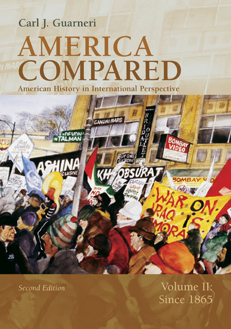 America Compared: American History in International Perspective, Volume II: Since 1865 - 9780618318575