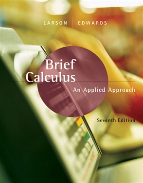 Brief Calculus: An Applied Approach - 9780618547197