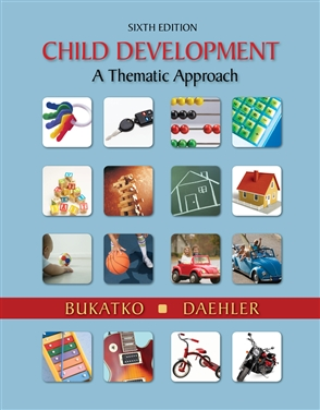 Child Development: A Thematic Approach - 9780618608652