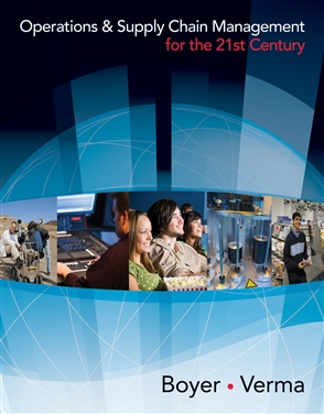 Operations and Supply Chain Management for the 21st Century - 9780618749331