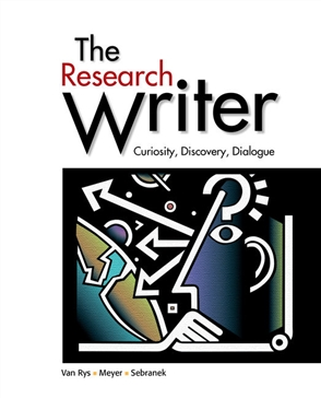 The Research Writer, Spiral bound Version - 9780618756223