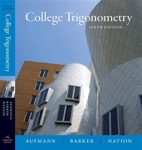 College Trigonometry - 9780618825073