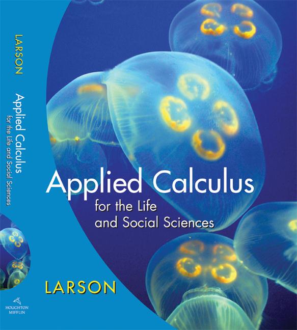 Applied Calculus for the Life and Social Sciences - 9780618962594