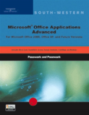 Step-by-Step Instructions for Microsoft Office 2000: Advanced - 9780619055929