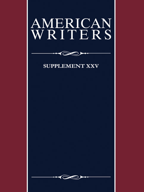 American Writers: Supplement XXV - 9780684324999