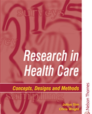 Research in Health Care - 9780748737185