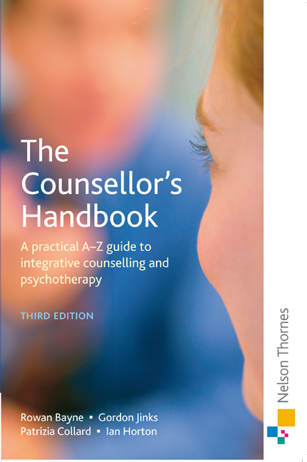 The Counsellor's Handbook - 9780748781713