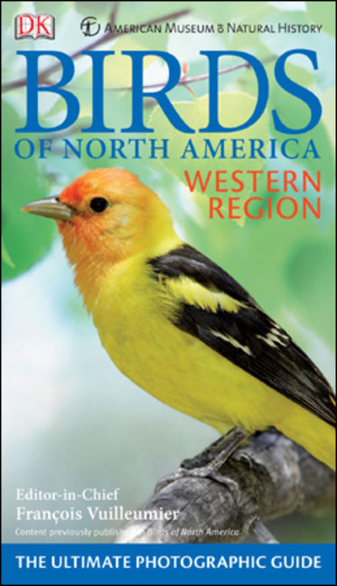 American Museum Of Natural History Birds Of North America Western Region - 9780756673888