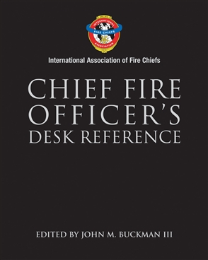 Chief Fire Officer's Desk Reference - 9780763729356