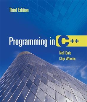 Programming In C++ - 9780763732349