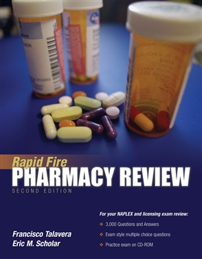Rapid Fire Pharmacy Review - 9780763734190