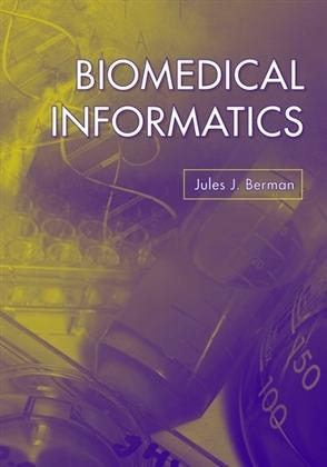 Biomedical Informatics - 9780763741358