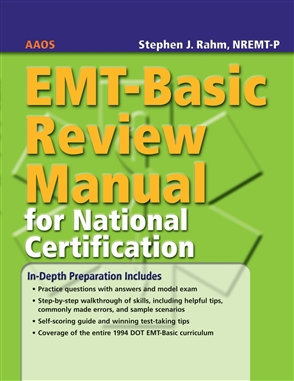 EMT-Basic Review Manual For National Certification - 9780763744663