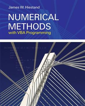 Numerical Methods With VBA Programming - 9780763749644