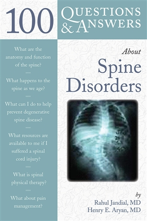 100 Questions  &  Answers About Spine Disorders - 9780763749880