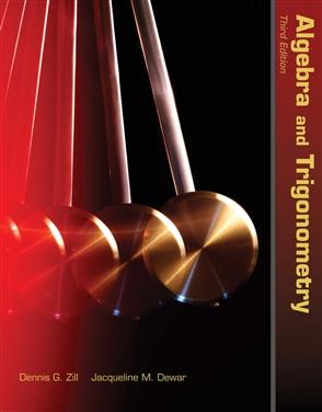 Algebra And Trigonometry - 9780763754617