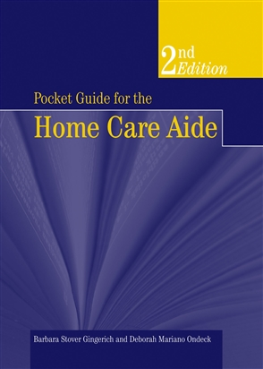 Pocket Guide For The Home Care Aide - 9780763755669