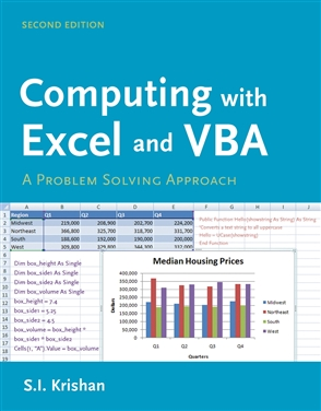 Computing With Excel And VBA - 9780763756680