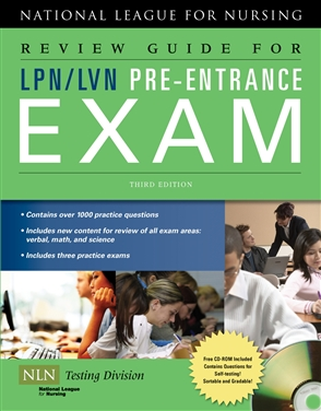 Review Guide For LPN/LVN Pre-Entrance Exam - 9780763762704