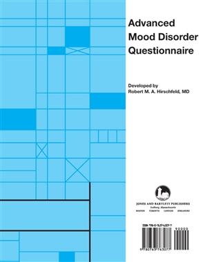 Advanced Mood Disorder Questionnaire (HA-MDQ) - 9780763763077