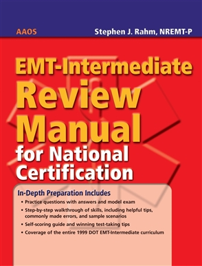 EMT-Intermediate Review Manual For National Certification - 9780763764708