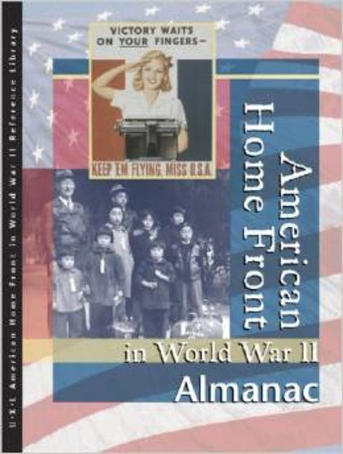 American Home Front in World War II: Almanac - 9780787676513