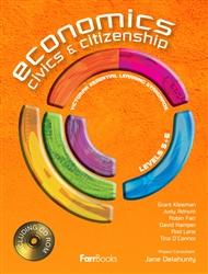 Economics, Civics & Citizenship Student Book & CD - 9780975199640