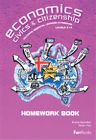 Economics, Civics & Citizenship Concepts & Skills Homework Book - 9780975199657