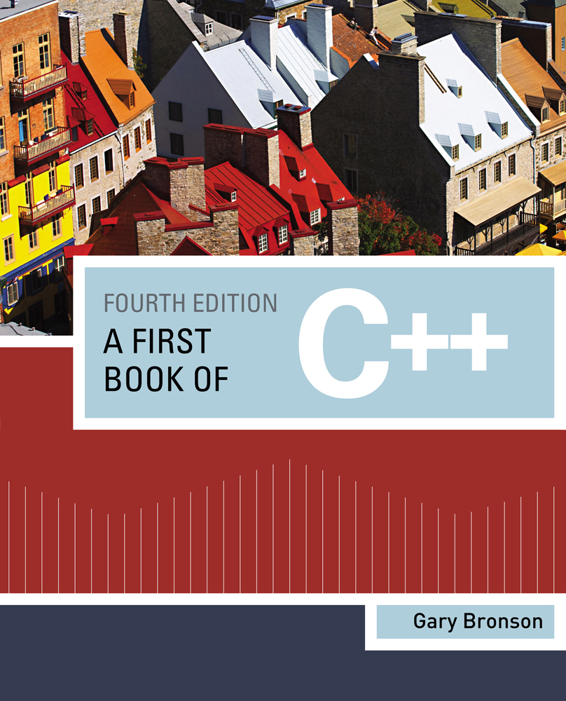 A First Book of C++ - 9781111531003