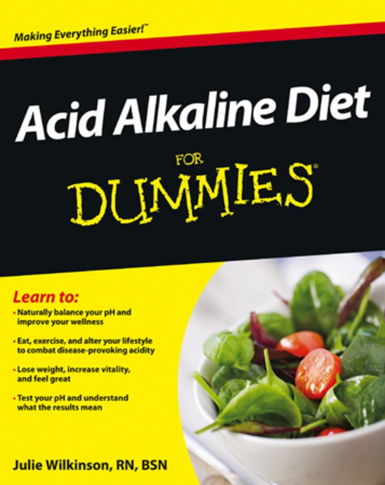 Acid Alkaline Diet For Dummies - 9781118414217