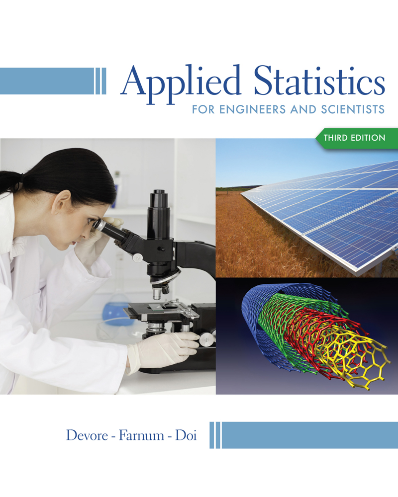Applied Statistics for Engineers and Scientists - 9781133111368