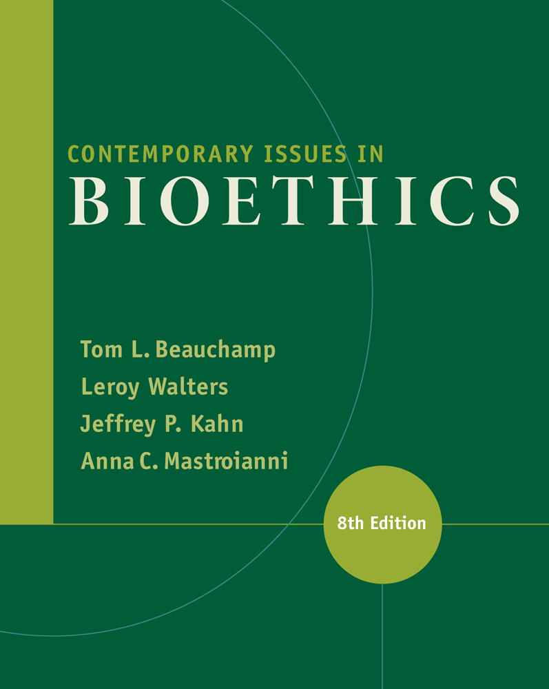 Contemporary Issues in Bioethics - 9781133315544
