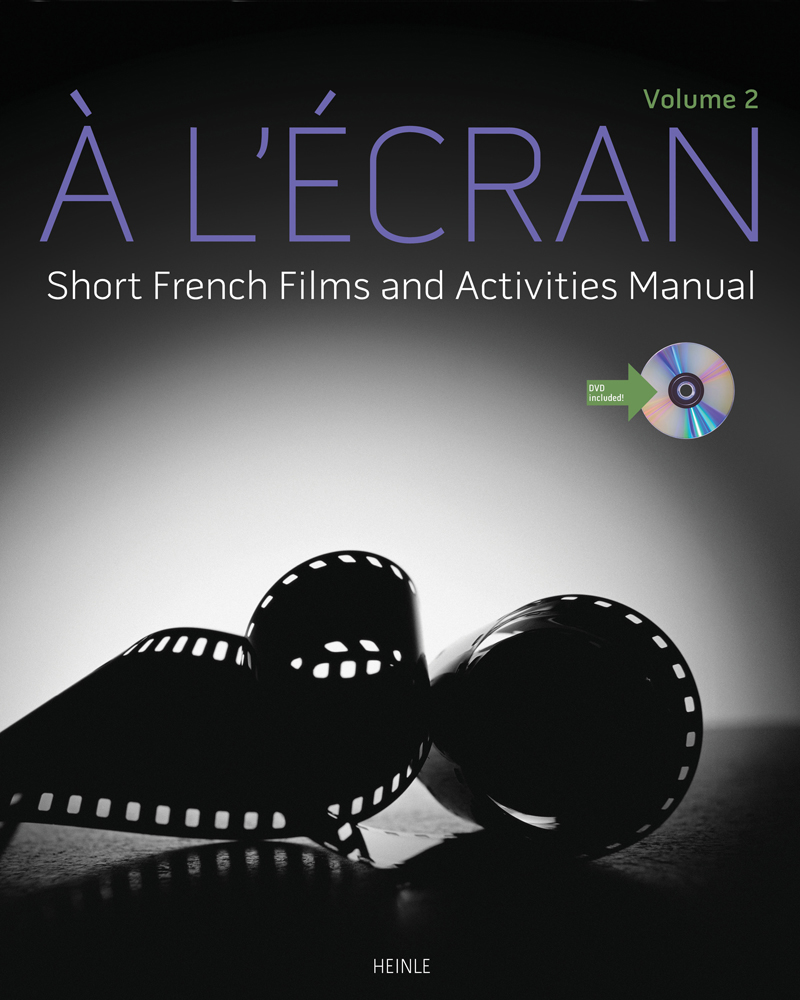 À l'écran: Short French Films and Activities, Volume 2 - 9781133434139